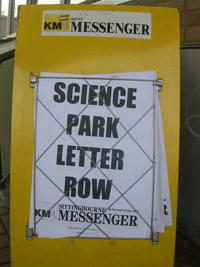 Science Park Letter Row